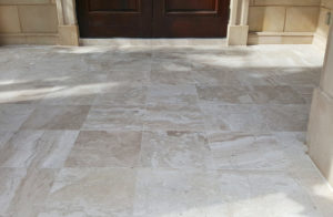 Pavers in beige Marble